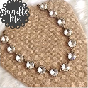 Jewelry - Restocked! 💎Crystal Bauble Statement Necklace